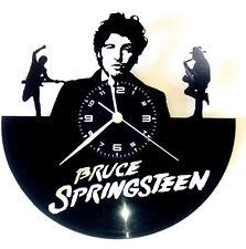 OROLOGIO DA PARETE FATTO A MANO - DISCO VINILE - Bruce Springsteen