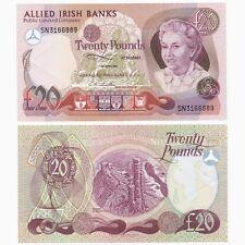 Irlanda - 1987 ALLIED Irish Banks £ 20 nota-BYB ref: ni.108 - aUNC.