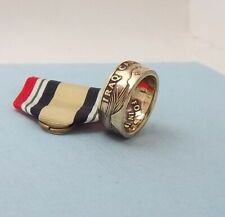 USA War  Iraq Campaign Medal Veteran Rings Military Ring Size 8 to 14