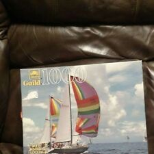 Golden Guild 1000 Piece Jigsaw Puzzle Factory Sealed Sailing