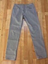 Levi's 511 Jeans. Light Grey. 30W x 32L. 98% Cotton, 2% Elastane. Slim-fit.