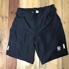 NWOT Canari Black Cycling Shorts 2 In 1 Size Medium Loose And Compression Padded