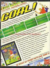 "Goal! ""Fantastic Football Action"" Virgin Games 1993 Magazine Advert #7265"