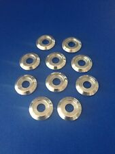 """10 Billet Finishing Washers for 3/8"""" bolts"""