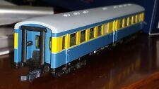 Piko 58055 (?) LOWA-Wagen Bghue (Bauart E5) der S-Bahn Leipzig blau-gelb