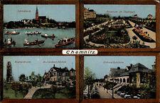 Chemnitz Sachsen AK 1938 Rosarium Bismarck Turm Schlößchen gelaufen n. Mayrhofen