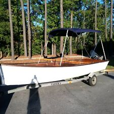 BOAT for sale, 1950s Vintage Louisiana Wooden Skiff