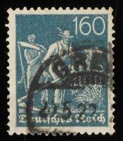 1825) Deutsches Reich MiNr. 170, KGS  , geprüft Infla Berlin