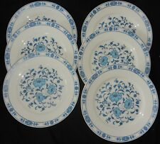 "A'/ Lot x6 assiettes plates Porcelaine de Limoges ""Ceralene"" ""Médicis"" Lot n°12"