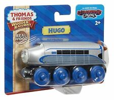 HUGO TRAIN Thomas and friends Wooden Railway Track Engine DTB89 by Fisher Price