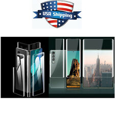 Phone Screen Hydrogel Protective Film For Samsung Galaxy Z Fold 3 Accessories