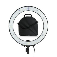 US 600 High CRI LED Adjustable Ring Light Video Studio Light Kit +Bag +Diffuser