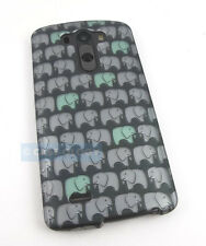 CUTE ELEPHANT PATTERN HARD CASE COVER FOR LG G3 2014 PHONE ACCESSORY