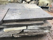 Reclaimed Yorkshire stone flags stone paving Cheap York stone flags .