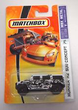 MATCHBOX HUMVEE HUMMER H2 CONCEPT #75 MILITARY CAMO