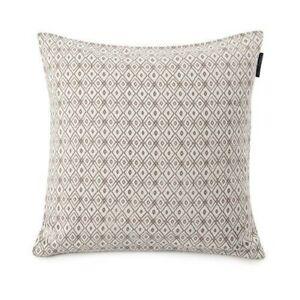 Lexington Diamond Decorative Pillow Grey