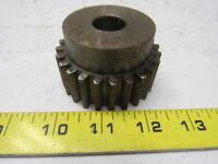 """Boston NF24B 24 Teeth Spur Gear 10 Pitch 2.6"""" OD 3/4"""" Bore"""