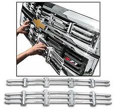 2014 CHEVROLET CHEVY SILVERADO 1500 Z71 2PC CHROME ABS GRILLE GRILL INSERT