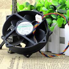 SUNON MagLev KDE1209PTVX 90/80x25mm CPU Round Cooling Fan 12V 4Pin 90day warrant