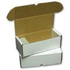 BCW 500 COUNT Corrugated Cardboard Storage Box Sports/Trading/Gaming Cards ct