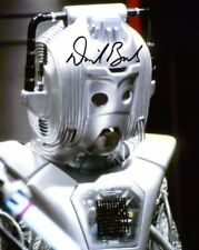Doctor Who Autograph: DAVID BANKS (Cyber-Leader, Earthshock) Signed Photo