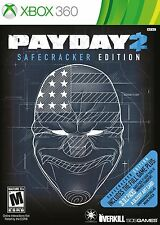 NEW Payday 2: Safecracker Edition (Xbox 360, 2014)
