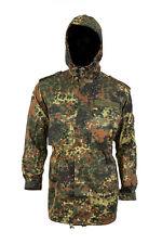 Original German army Parka Army issue hooded Flecktarn camo jacket NEW