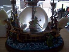 Disney - Peter Pan Captain Hook Jolly  Rogers Music & Lights Snowglobe