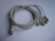LINDY 1.8m VGA Male to 5 BNC Plugs (RGB & H/V Sync) Cable / Lead