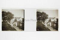 Dames A Cappelli Foto Amateur Placca Da Lente Stereo Ca 1920