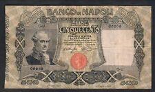 500 lire banco di napoli 13 12 1914 raro naturale q.bb forellini LOTTO 1730