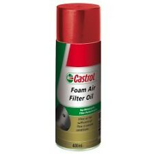 CASTROL FOAM AIR FILTER OIL / GRAISSE FILTRE A AIR 400ML maxi contenance !