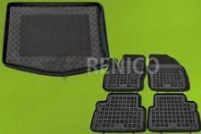 Gummifußmatten Kofferraumwanne Fußmatten Set TN Ford C-Max II ab Baujahr 2010