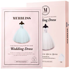 [MERBLISS] Wedding Dress Nude Seal Mask 5pcs