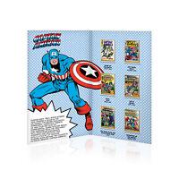 Marvel Comics Captain America Gold Ingot Collection