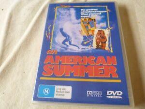An American Summer (DVD) Region Free  Michael Landes, Brian Austin Green