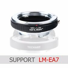 K&F Concept adapter fit LM-EA7 for Minolta MD MC lens to Leica M camera M-P M240