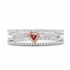 0.46 Ct. Diamond Ring in 18k White Gold