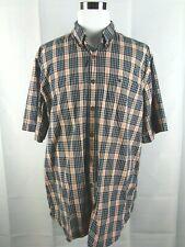 NWT Carhartt Mens Size XL XLT Tall Tan Short Sleeve Button Down Pocket Shirt NEW