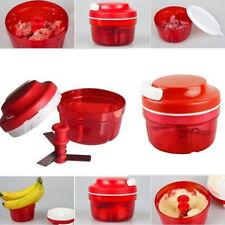 Food Chopper Dicer Slicer Meat Cutter Mixer Salad Crusher Kitchen Gadget Helper
