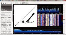 ANTENNA SCANNER MAGNETICA HAM RADIO RTL SDR RTL2832u R820T R820T2 DA 25-1800MHZ