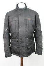 RICHA Black Lined Motorbike Jacket size M
