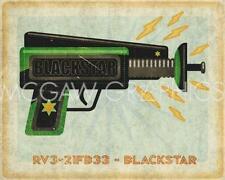 Blackstar Ray Gun John W Golden Art Print 8x10