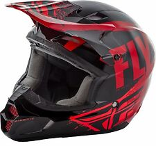 2018 Fly Racing Kinetic Burnish Helmet Motocross ATV Off Road Dirt Bike 73-339