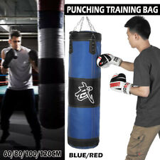 100/120cm Thickened Boxing Training Punching Bag Hanging Empty Heavy  //  #