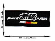 Mugen Power Automobile Car Racing Logo Applique Iron on Patch Sew Free Shipping