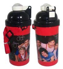 vuelta al cole One Direction Rojo VASO POP UP Bidón con correa - 500ml