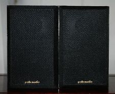 Vtg Polk Audio Monitor Series 2 Bookshelf Speakers Correlative Serial #s TESTED