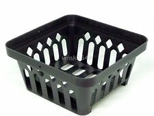 6 X5 Vanda Orchid Baskets Aero Hydro Plastic Basket Pot Square Mash Hanger Home