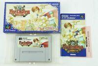 Fire Emblem Thracia 776 SNES Nintendo Super Famicom Box From Japan